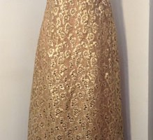 1950/60s Hardy Amies' Evening Gown