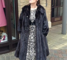 Harrods of London Mink Coat by Grosvenor