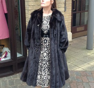 outlet really comfortable later 30556 Harrods of London Mink Coat | Stardust Years