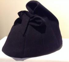 1930/1940s Navy Blue Hat