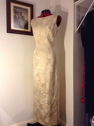 1960s Evening Gown 60033 Stardust Years