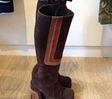 A fabulous pair of 1970s platform boots
